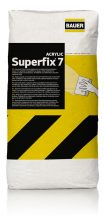 Superfix 7 - Repairing of Masonry Walls, Putties - Repairing products